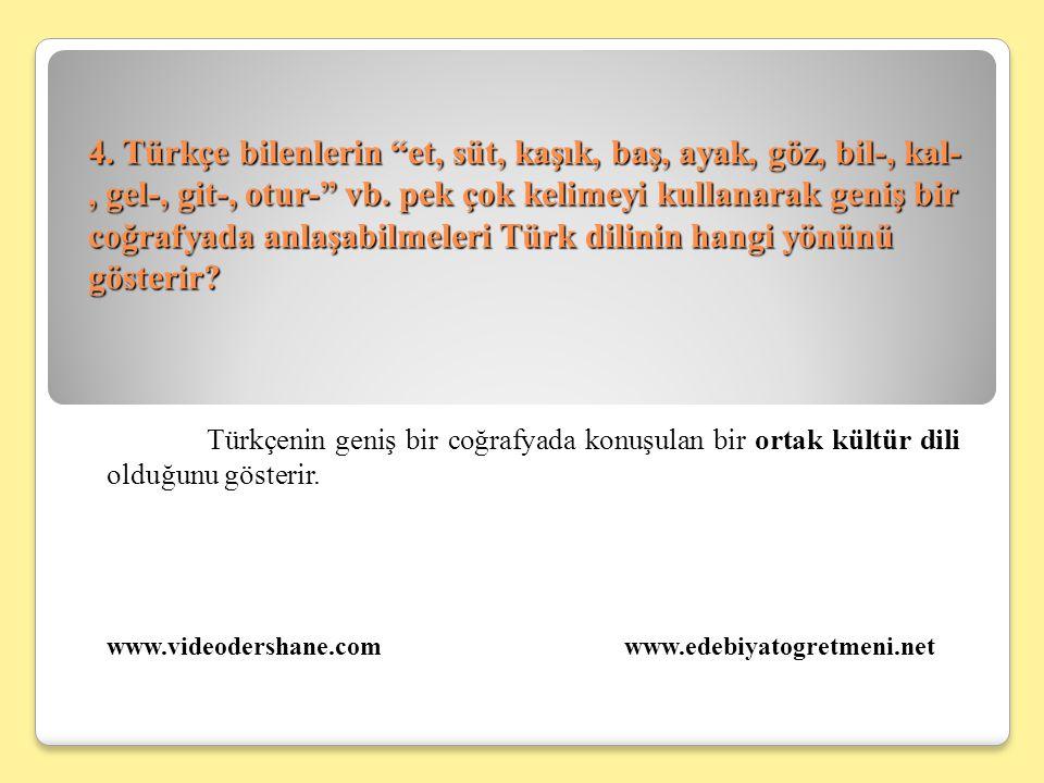 5.Bugün İstiklal Marşı'nın ve Atatürk'ün Gençliğe Hitabesi'nin dili kolayca anlaşılmamaktadır.