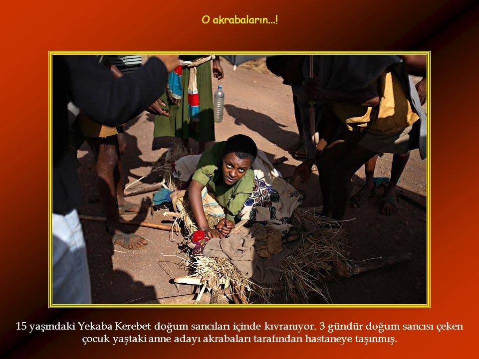 Etyopyalı Tsegaya Mekonen düğün için hazırlanıyor....