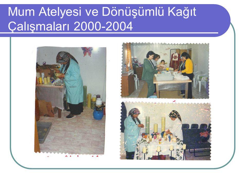 Mum Atelyesi ve Dönüşümlü Kağıt Çalışmaları 2000-2004