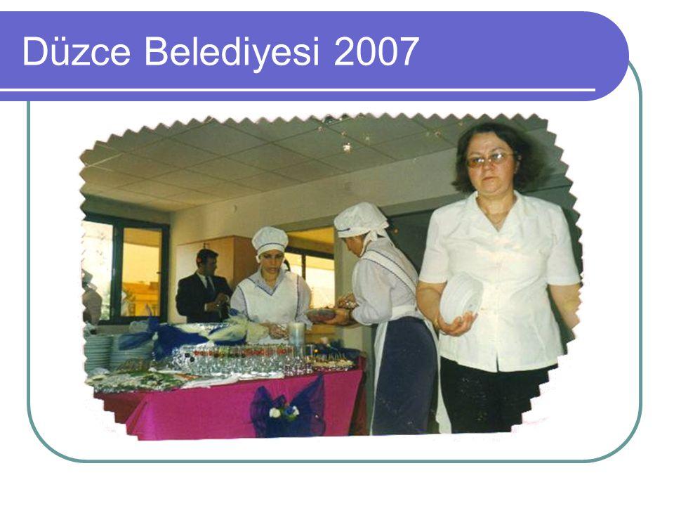 Düzce Belediyesi 2007
