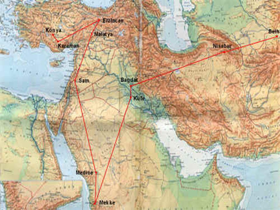 XIII. yüzyıl Türk-İslâm dünyasının büyük mutasavvıf şairi ve düşünürü Mevlânâ Celâleddin-i Rûmî (1207-1273), Batı Türkistan'ın Belh şehrinde doğmuştur