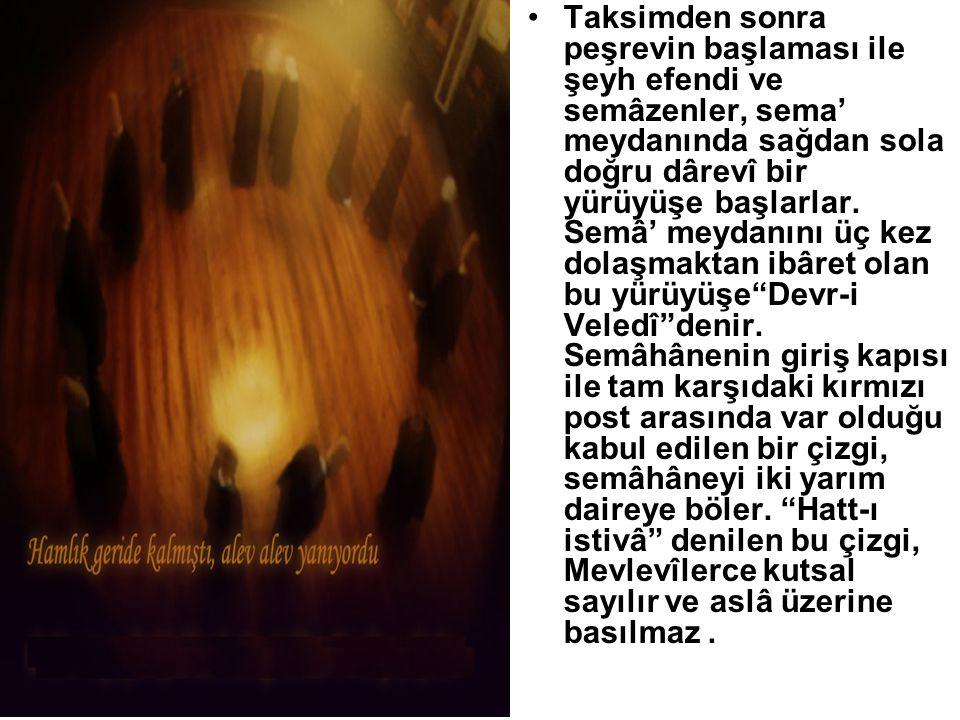 İslâm inanışına göre Allah, insanın önce cansız bedenini yaratmış, sonra ona kendi ruhundan üfleyerek diriltmiştir. Na't'dan sonra yapılan ney taksimi