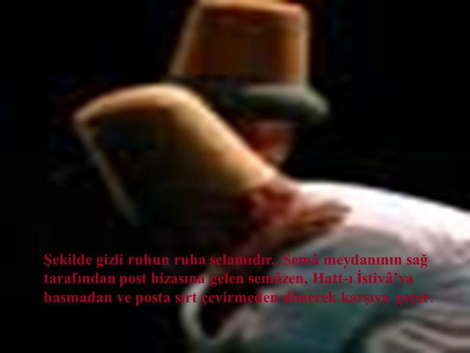 Dördüncü bölüm, Sultan Veled devridir. Bu, semazenlerin birbirine üç kere selam vererek, bir peşrevle dairevi yürüyüşüdür..