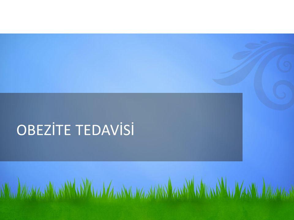 OBEZİTE TEDAVİSİ
