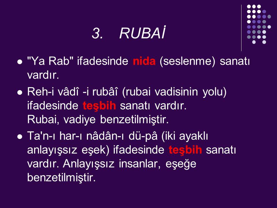 3.RUBAİ