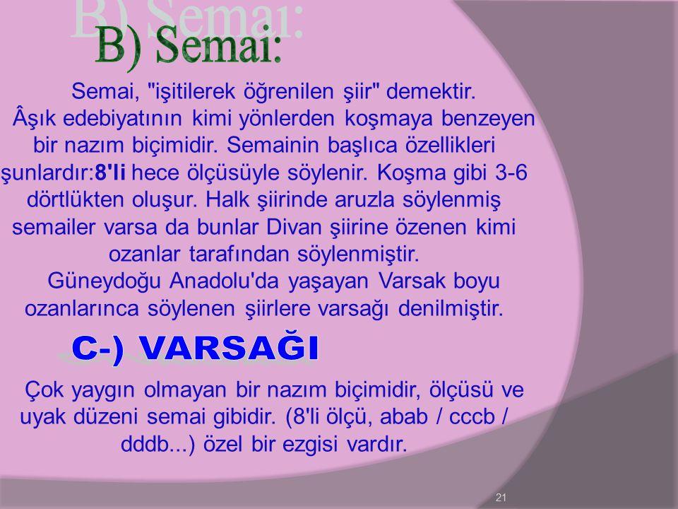 21 Semai,