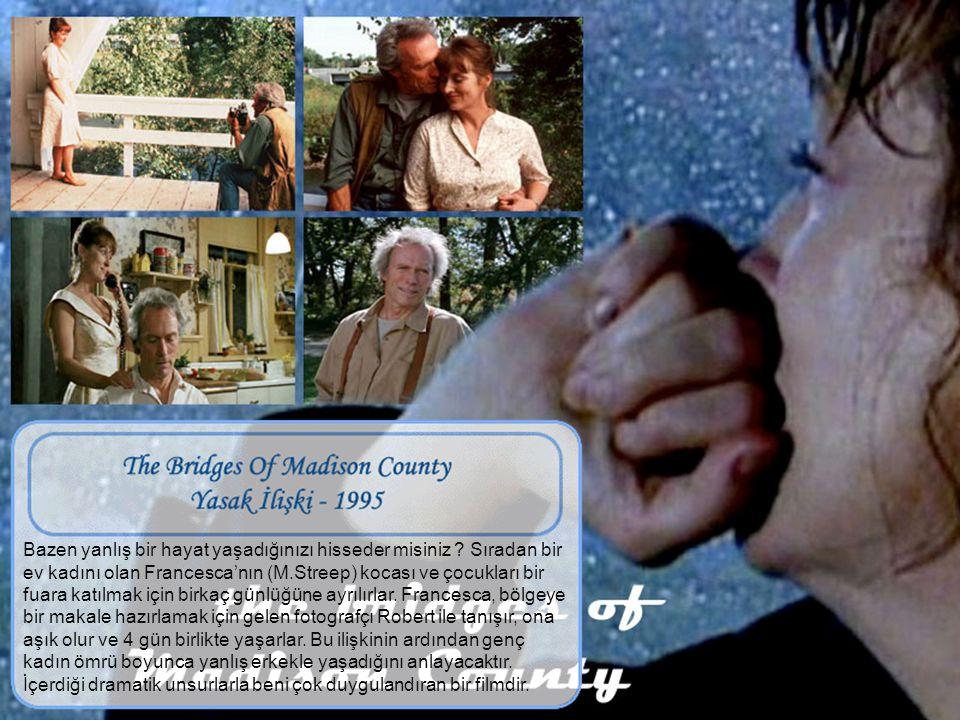 Yabancılara hemen güvenmeyin ! Kocası ile ilişkisi monotonlaşan tecrübeli nehir rehberi Gail Hartman (M.Streep) ve ailesi bir hafta sonu rafting yapma