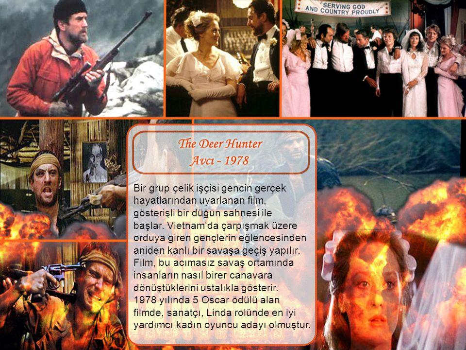 """Oyunculuk kariyerine 1971 yılında başlayan Meryl Streep, 1977 yılında """"Deadliest Season"""" TV filminde """"Sharon Miller"""" rolü ile, aynı yıl """"Julia"""" filmin"""