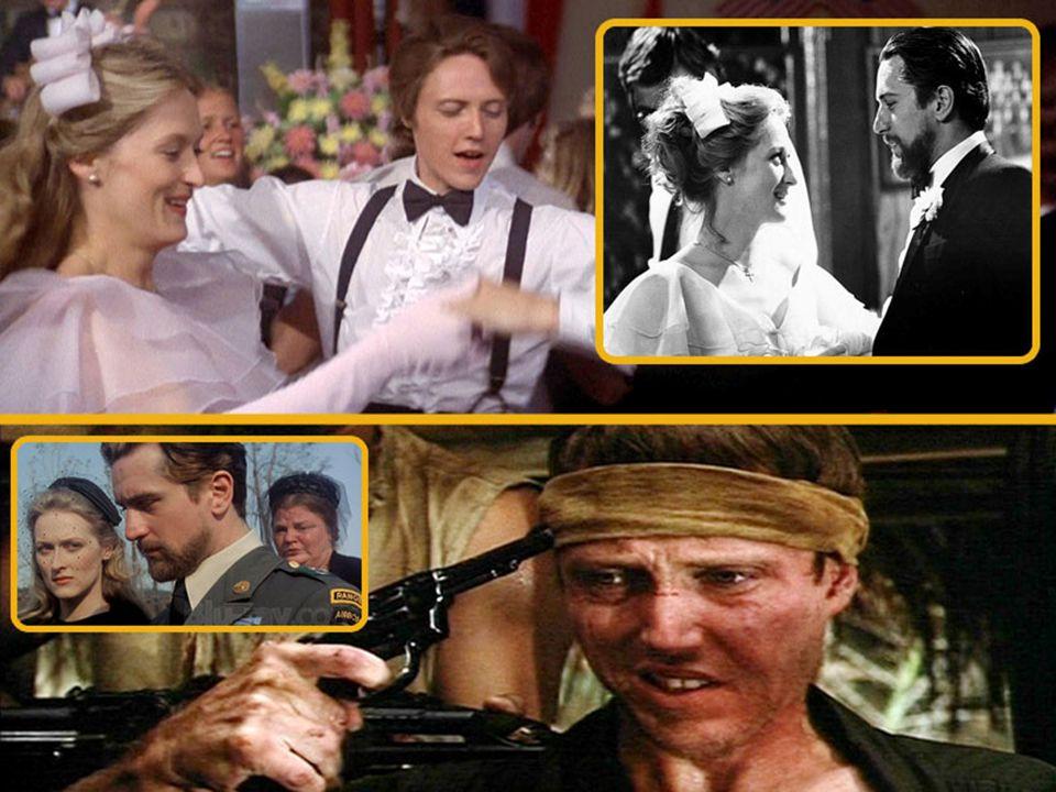 Bir grup çelik işçisi gencin gerçek hayatlarından uyarlanan film, gösterişli bir düğün sahnesi ile başlar. Vietnam'da çarpışmak üzere orduya giren gen