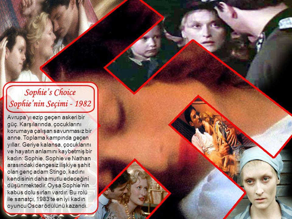 Psikolojik bir gerilim. Brooke Reynold rolünde Meryl, sevgilisi öldürülen ve psikiyatristten yardım isteyen bir kadını canlandırıyor. Psikiyatrist Sam