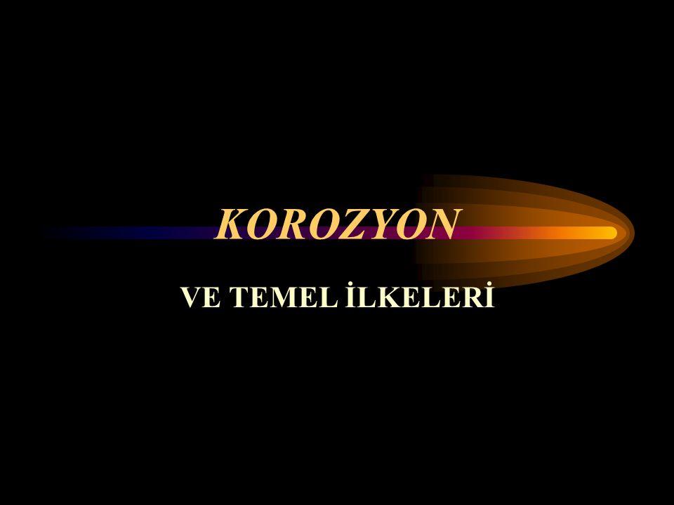 KOROZYON VE TEMEL İLKELERİ