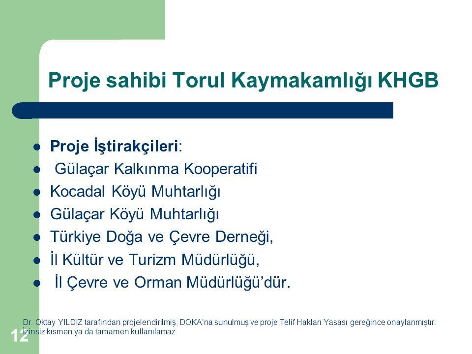 12 Proje sahibi Torul Kaymakamlığı KHGB Dr.