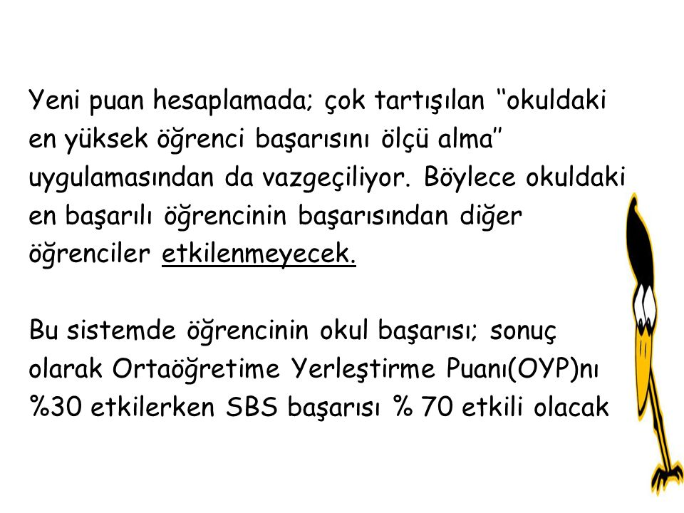 PEKİ SBS NASIL BİR SINAV.