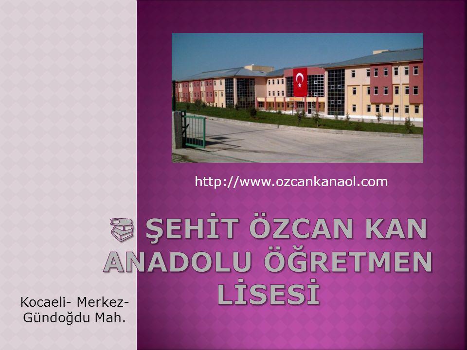 http://www.ozcankanaol.com Kocaeli- Merkez- Gündoğdu Mah.