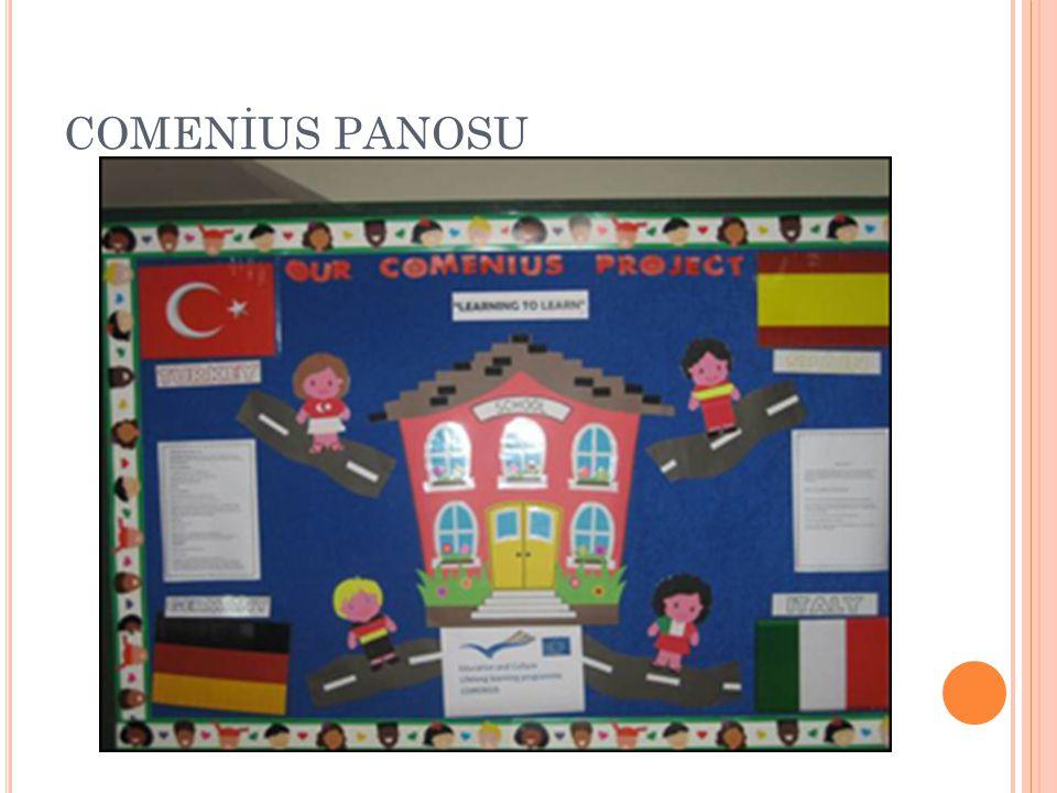 COMENİUS PANOSU