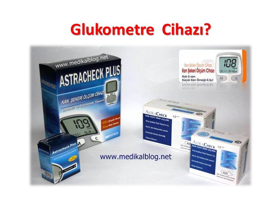Glukometre Cihazı?