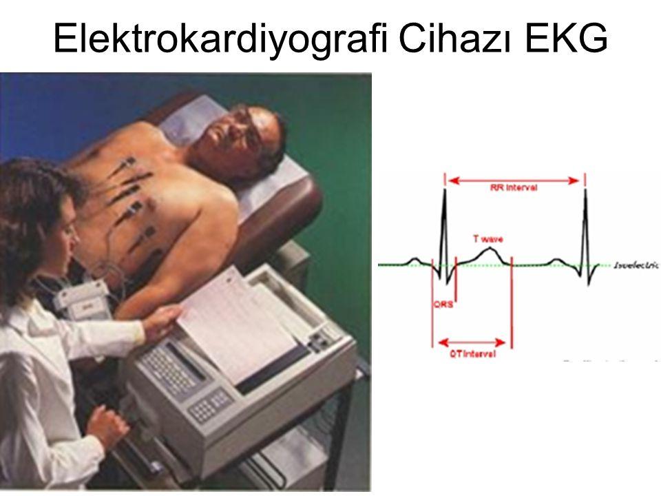Elektrokardiyografi Cihazı EKG