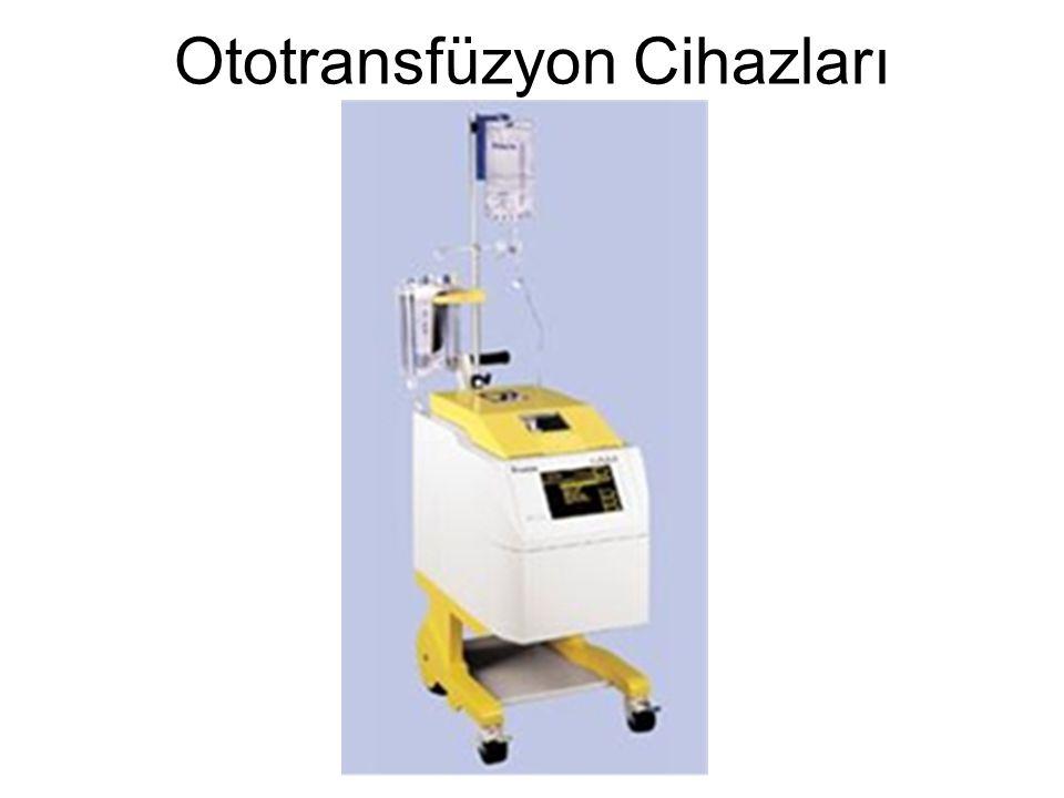 Ototransfüzyon Cihazları