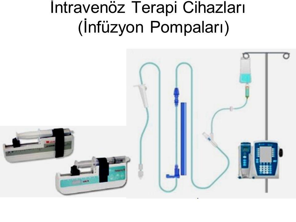 İntravenöz Terapi Cihazları (İnfüzyon Pompaları)
