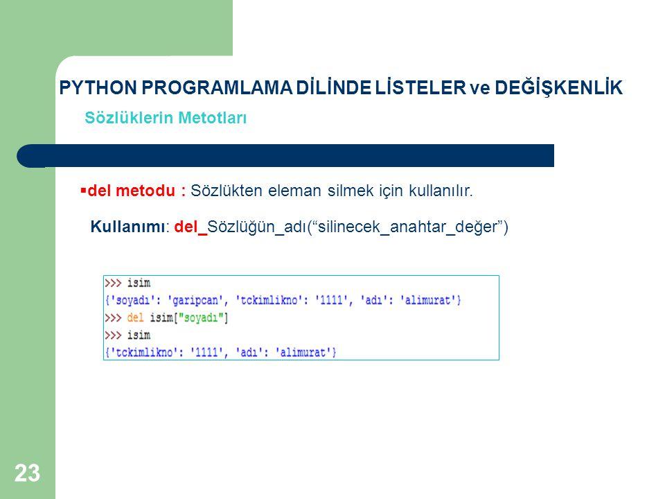 KAYNAKLAR [1] http://ocw.mit.edu/courses/electrical-engineering-and-computer- science/6-00-introduction-to-computer-science-and-programming-fall- 2008/lecture-videos// [2] http://mesaj.pclabs.com.tr/51398/python-programlama-dili/ [3] http://www.istihza.com/py3/icindekiler_python.htmlhttp://www.istihza.com/py3/icindekiler_python.html [4] Başer, M., Çok Amaçlı, Nesne Tabanlı Modüler Programlama Dili Python, Pusula Yayıncılık, 2003, İstanbul 24