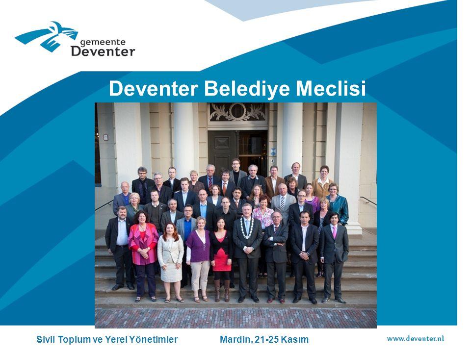 Deventer Belediye Meclisi Sivil Toplum ve Yerel Yönetimler Mardin, 21-25 Kasım