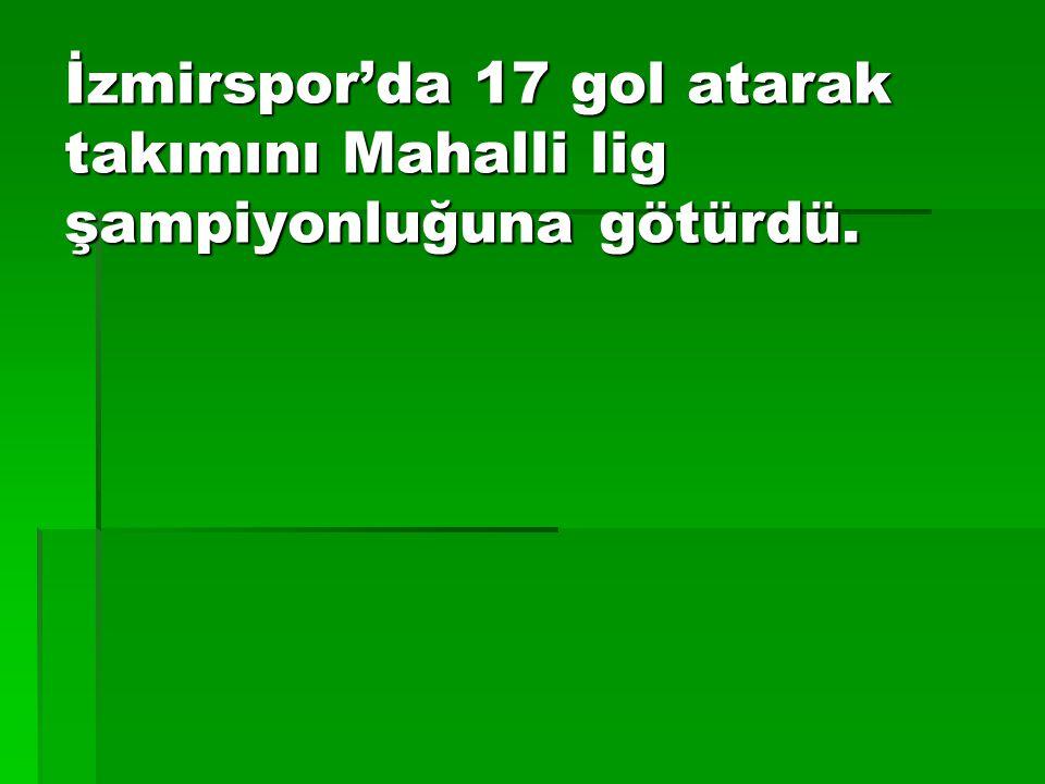 1955'de 19 yaşında Galatasaray'a transfer oldu.