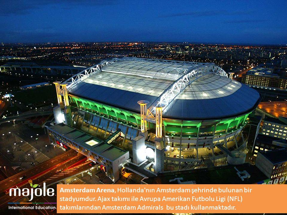 Amsterdam Arena, Hollanda'nın Amsterdam şehrinde bulunan bir stadyumdur. Ajax takımı ile Avrupa Amerikan Futbolu Ligi (NFL) takımlarından Amsterdam Ad