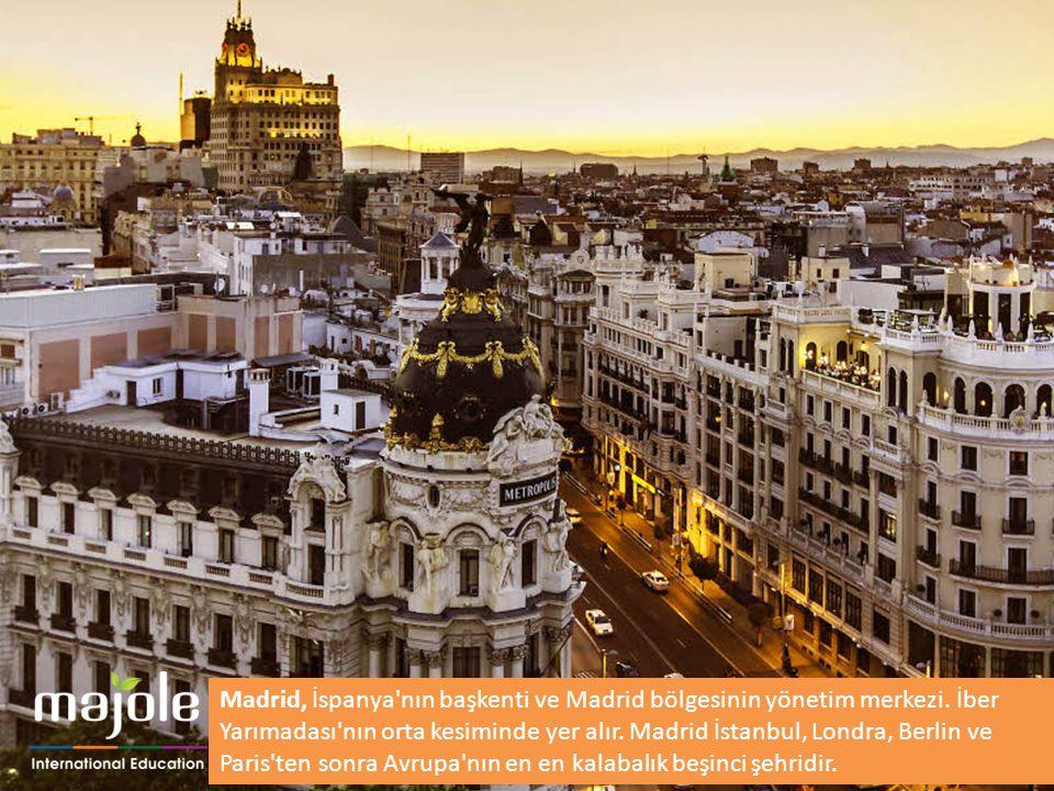 Madrid, İspanya'nın başkenti ve Madrid bölgesinin yönetim merkezi. İber Yarımadası'nın orta kesiminde yer alır. Madrid İstanbul, Londra, Berlin ve Par