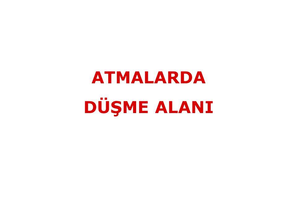 ATMALARDA DÜŞME ALANI