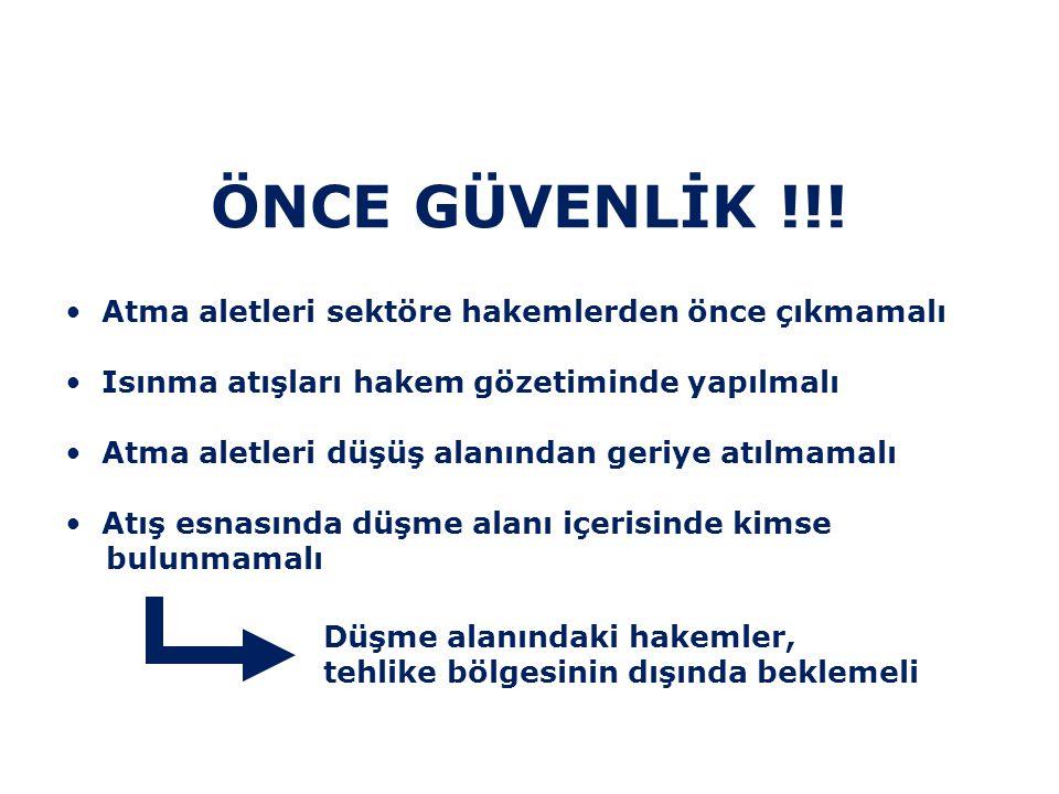 ÖNCE GÜVENLİK !!.
