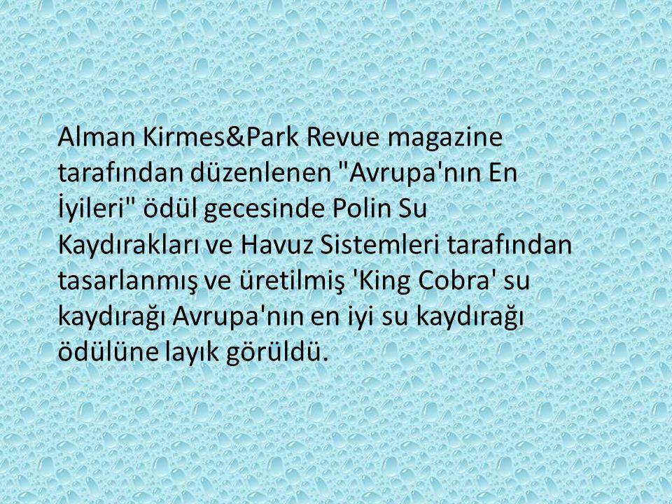 Alman Kirmes&Park Revue magazine tarafından düzenlenen