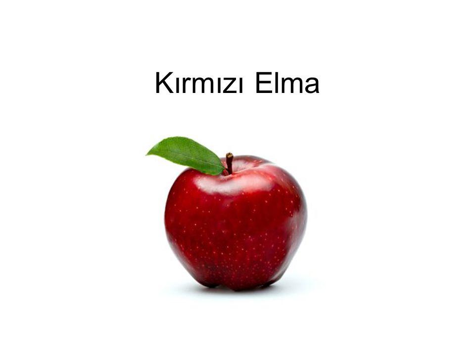 Kırmızı Elma