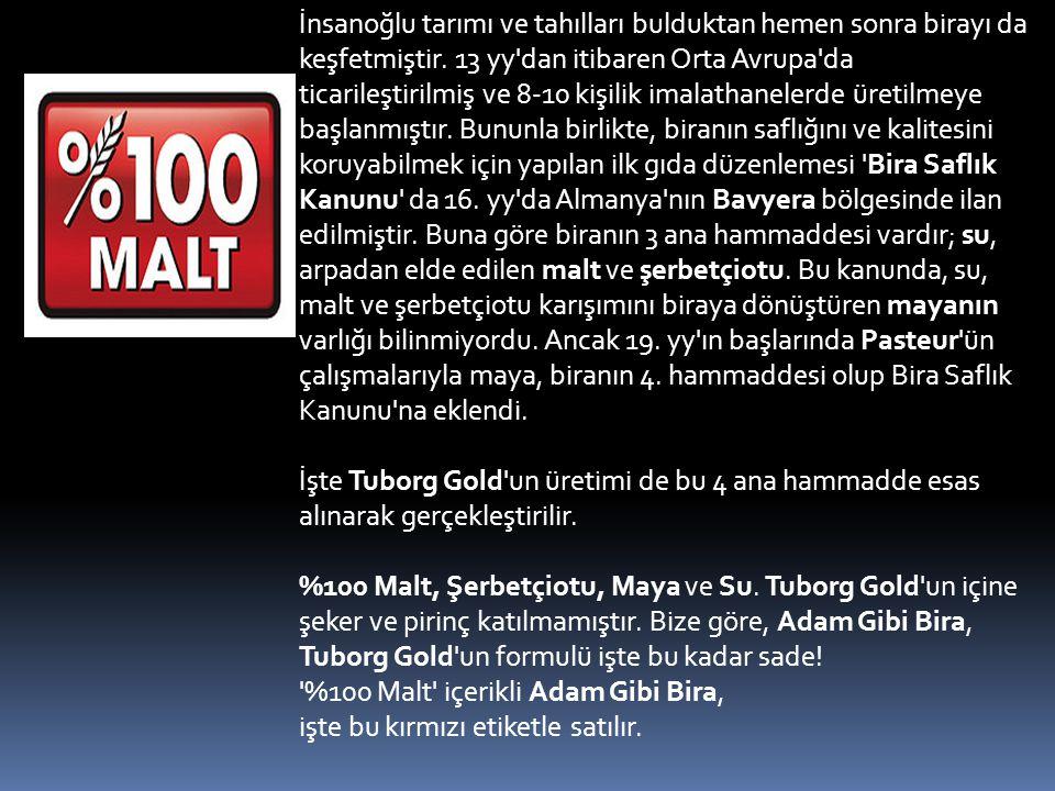  Türk Tuborg Bira ve Malt Sanayii A.Ş 1967 yılında İzmir-Pınarbaşı'nda kuruldu.