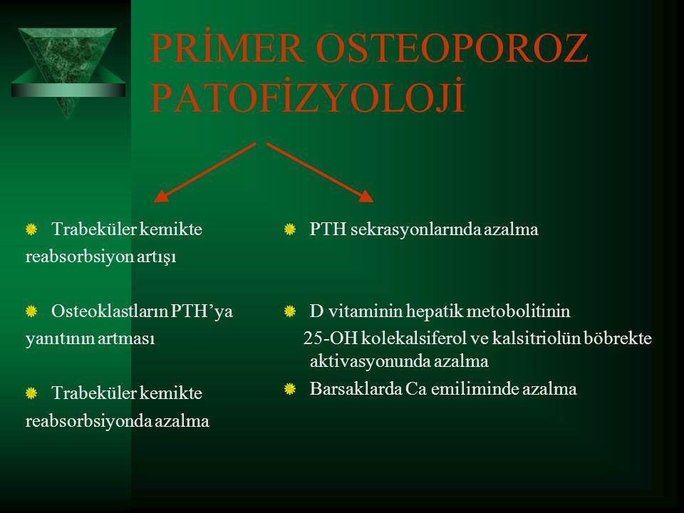OSTEOPOROZDA PATOFİZYOLOJİ  Doruk kemik kütlesi:Esas olarak genetik olarak belirlenmiştir.Ancak uygun Ca alımı ile birlikte dengeli beslenme,egzersiz