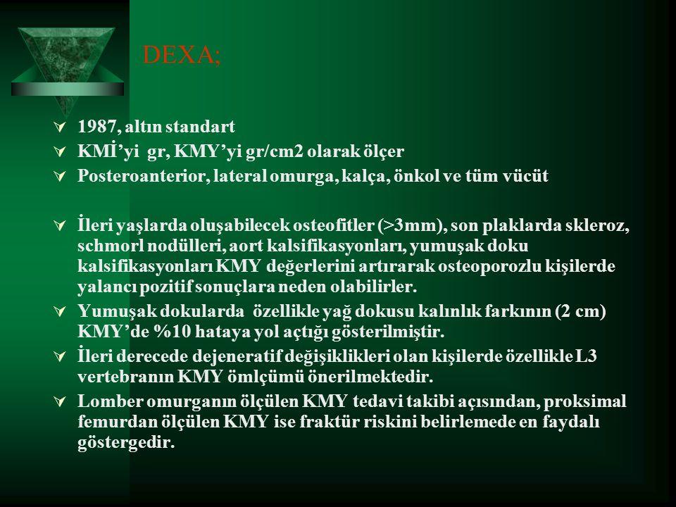 2-ÇİFT ENERJİ X-IŞIN ABSORBSİYOMETRİ (DEXA)