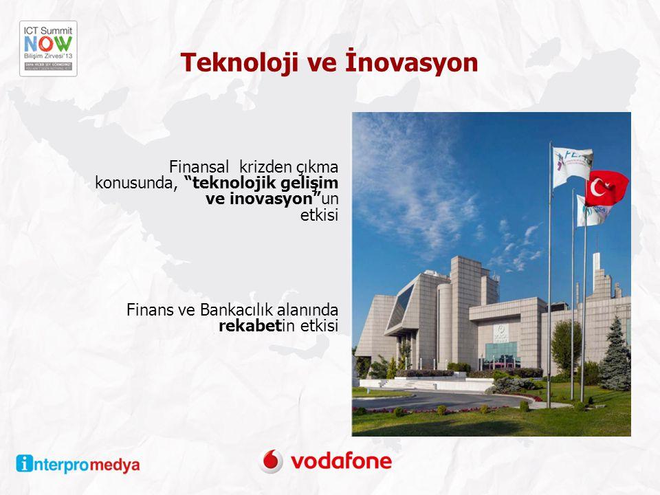 Teknoloji ve İnovasyon Finansal krizden çıkma konusunda, teknolojik gelişim ve inovasyon un etkisi Finans ve Bankacılık alanında rekabetin etkisi