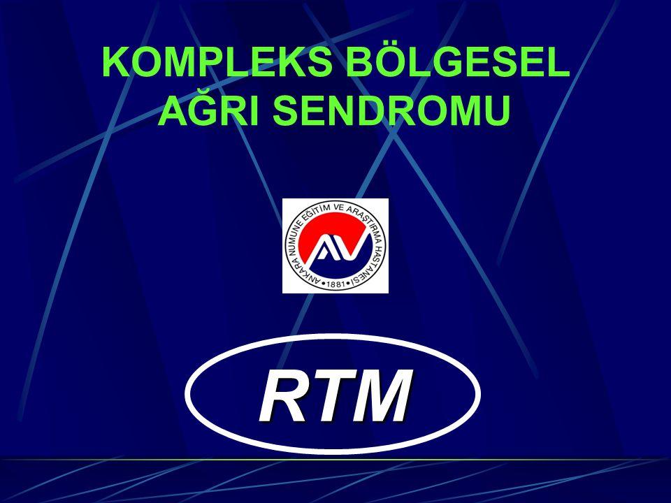 KOMPLEKS BÖLGESEL AĞRI SENDROMU 1 RTM