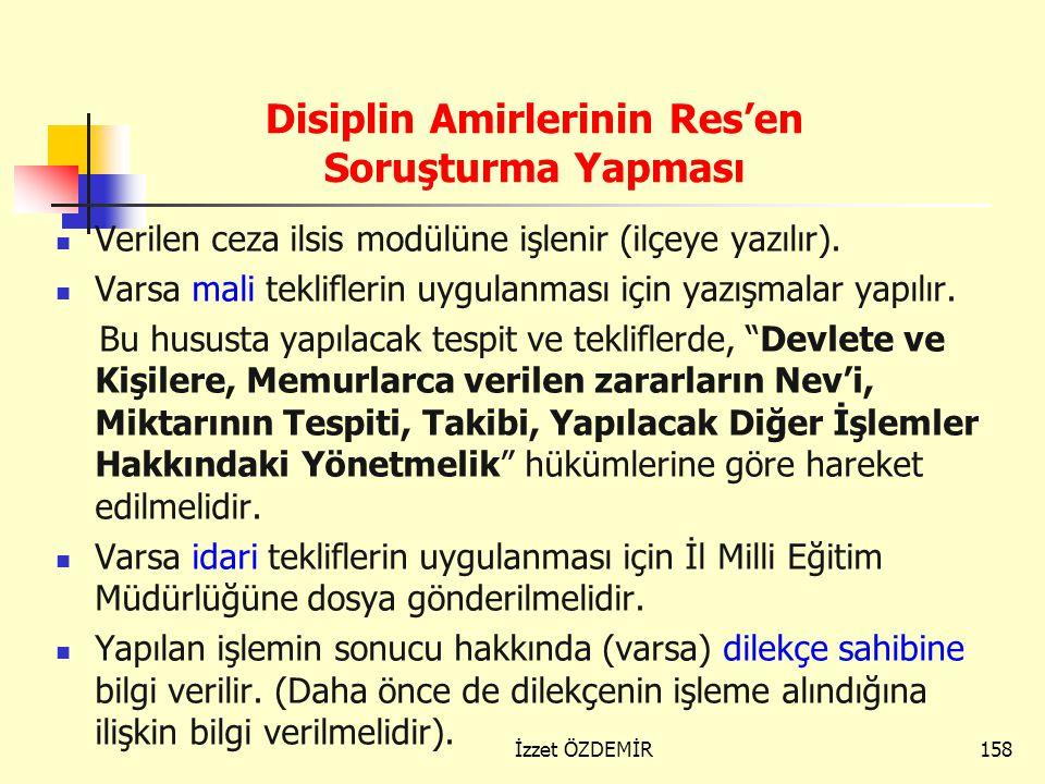 157 Usulüne uygun bir ceza yazısı yazılır. (Tevhid uygulaması kaldırıldığı için her kusur için ayrı ayrı ceza verilmelidir.) a) CEZA yazısı, ©© b) ALT