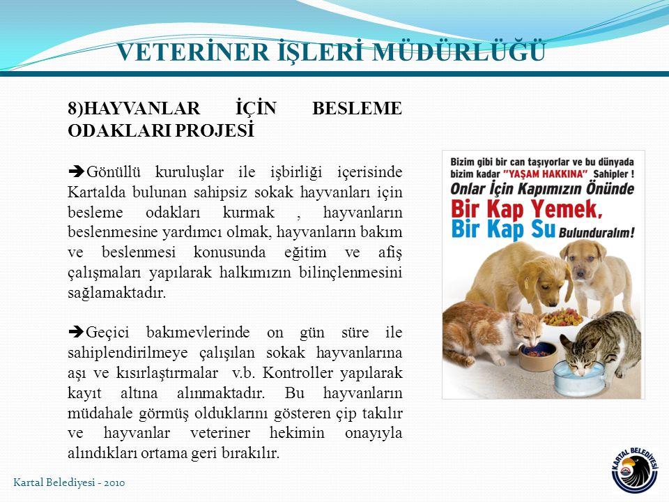 Kartal Belediyesi - 2010  Bursa Osmangazi Belediyesi'nde düzenlenen uluslararası katılımlı barınak hekimliği konulu seminere iştirak edildi.