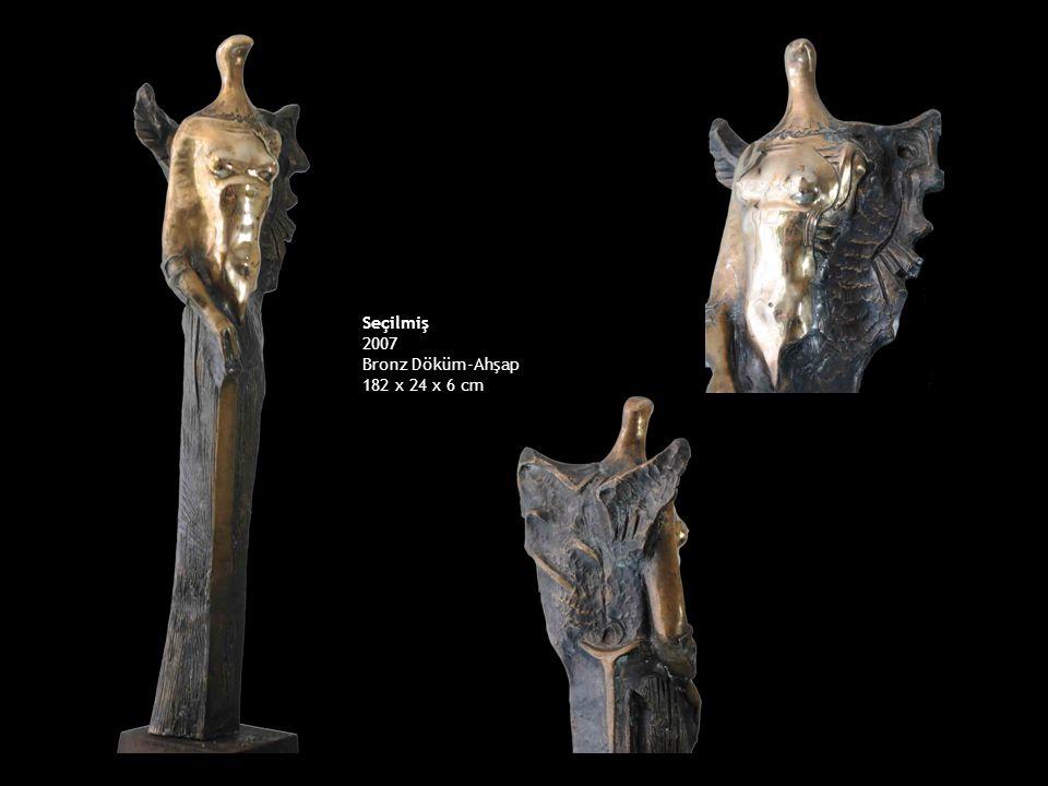 Seçilmiş 2007 Bronz Döküm-Ahşap 182 x 24 x 6 cm