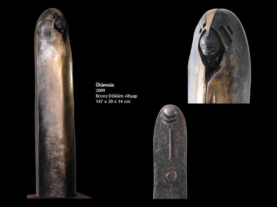Ölümsüz 2009 Bronz Döküm-Ahşap 147 x 20 x 14 cm