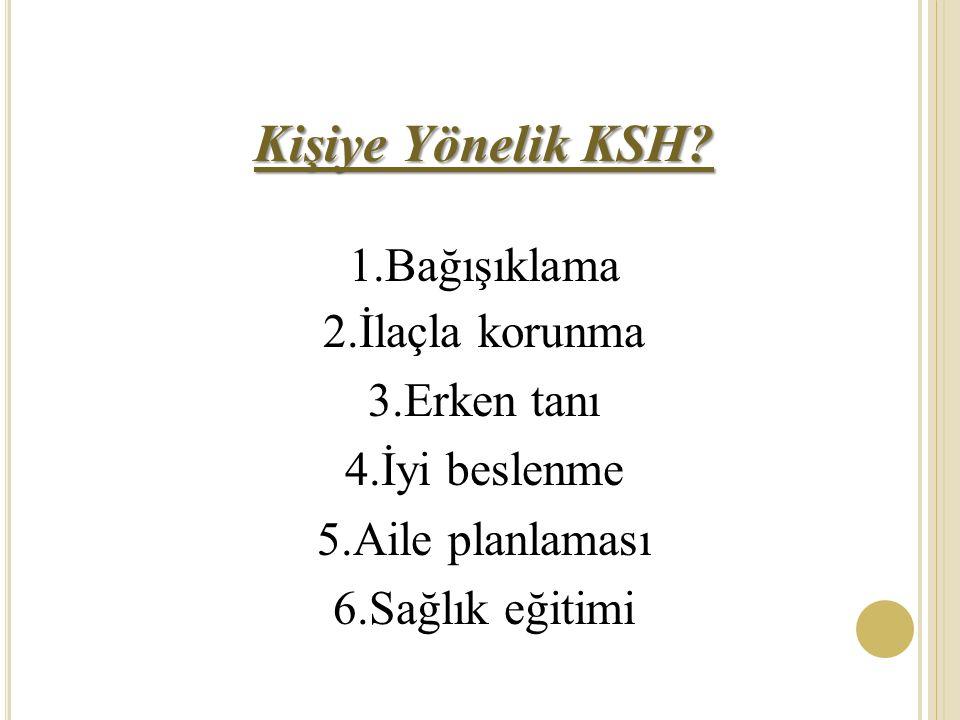Kişiye Yönelik KSH.