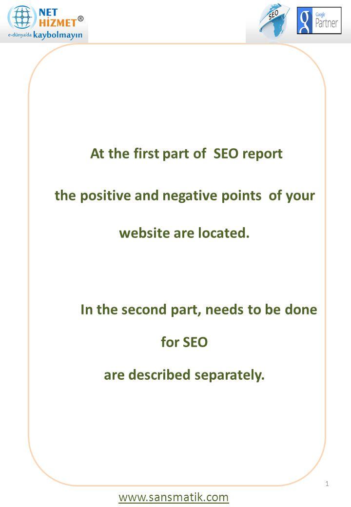 4/5: Search Ranking Web sitenizin, arama motorları sıralamasının artması için, site içeriğinize uygun anahtar kelimelerin çoğaltılması gerekir.