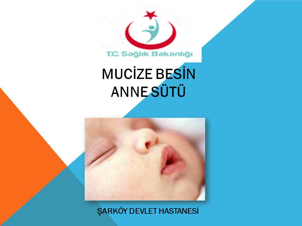 ANNE SÜTÜNÜN FAYDALARI Her bebek için en iyi, en doğal ve en taze besindir.