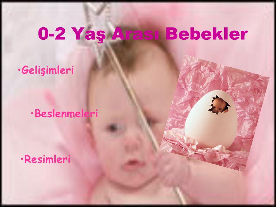 0-2 Yaş Arası Bebekler Gelişimleri Resimleri Beslenmeleri