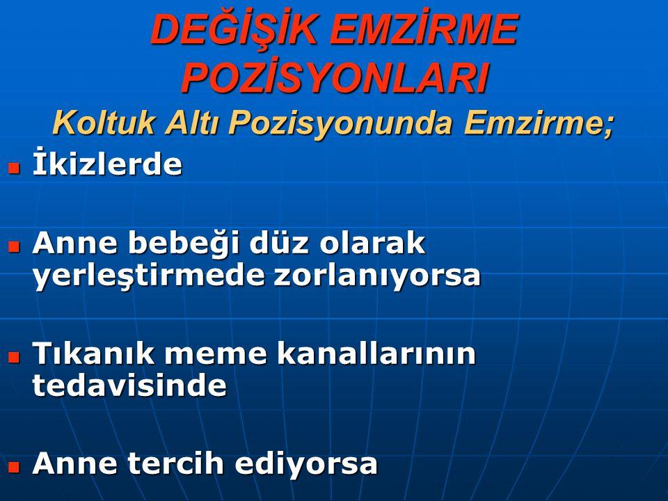 ANNE BEBEĞİ MEMESİNE NASIL TUTUYOR .