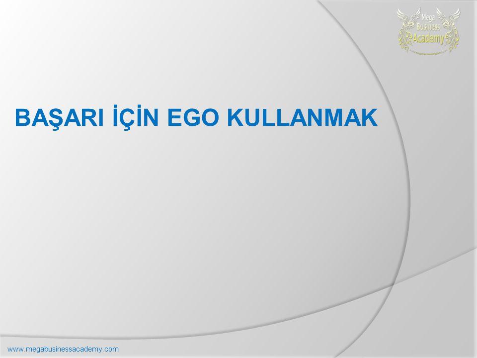 BAŞARI İÇİN EGO KULLANMAK www.megabusinessacademy.com