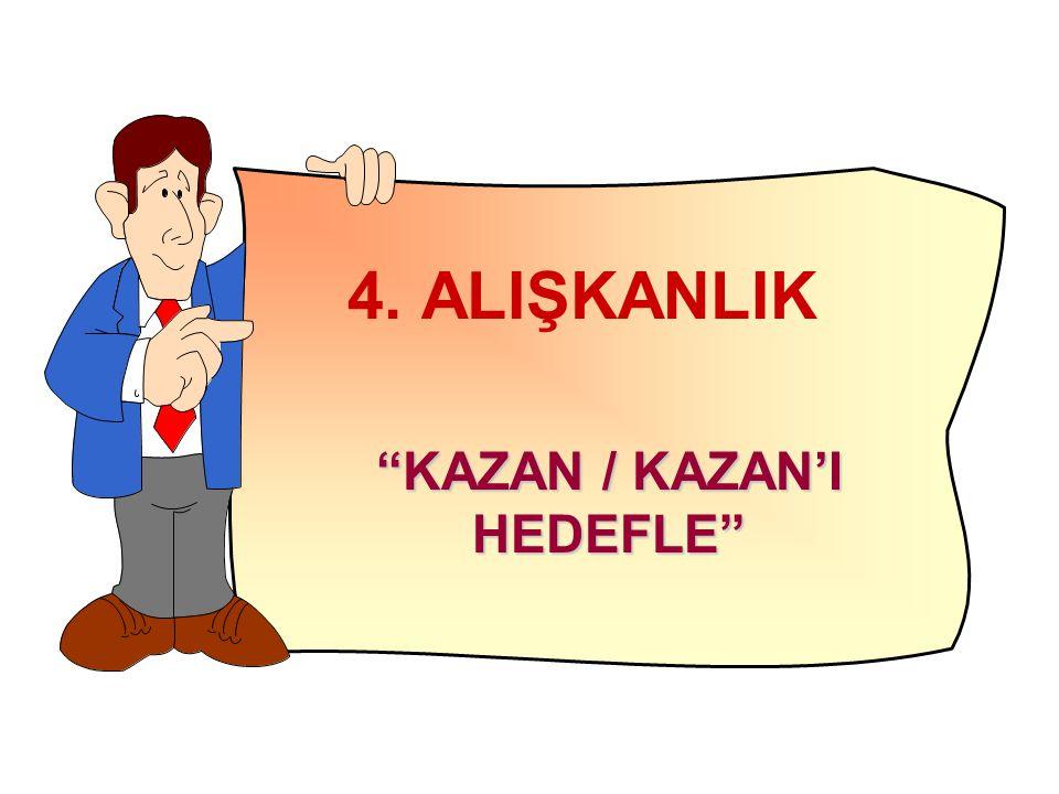 """4. ALIŞKANLIK """"KAZAN / KAZAN'I HEDEFLE"""""""