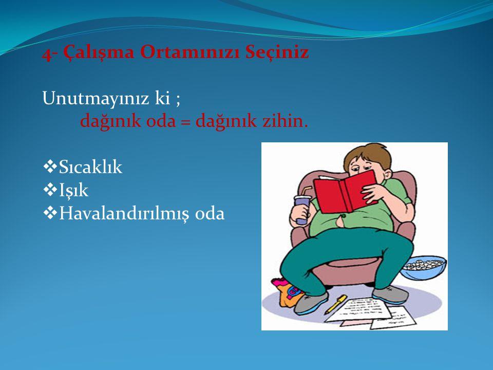 SİZLERİ BAŞARIYA GÖTÜRECEK 9 ALTIN KURAL 1- Kesinlikle TV.