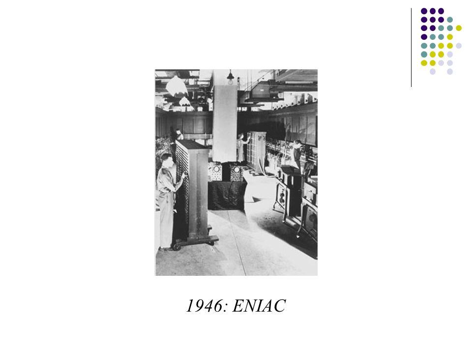 1946: ENIAC